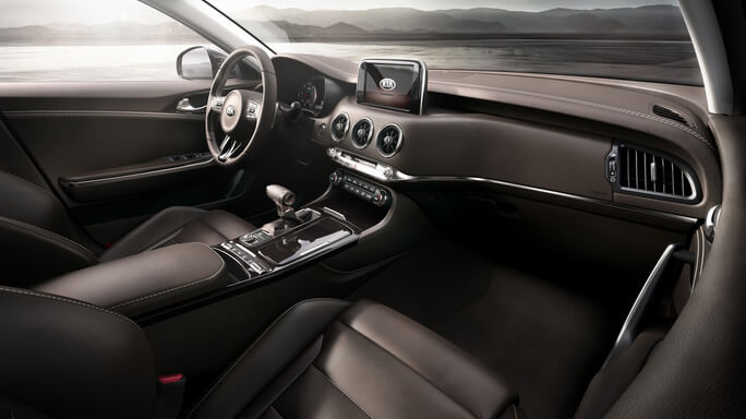 kia stinger new Interior