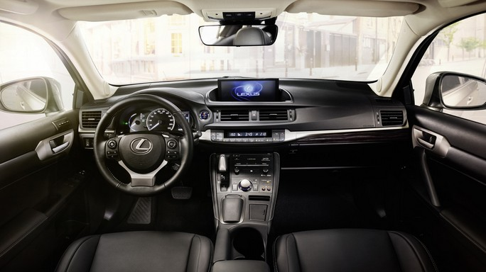 lexus CT200H new Interior