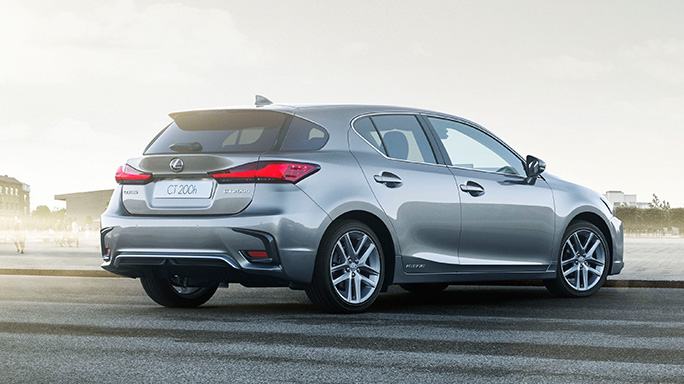 lexus CT200H new Rear