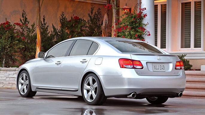 lexus gs300 2007 Rear
