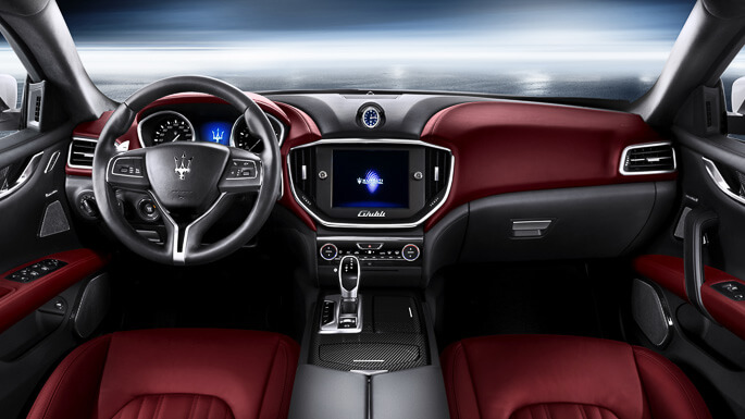 maserati ghibli new Interior