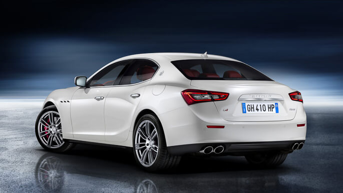maserati ghibli new Rear