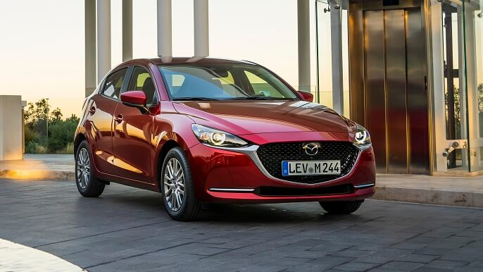 mazda 2 new Front