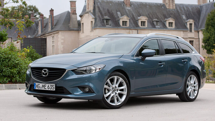 mazda 6 station wagon 2013 Front