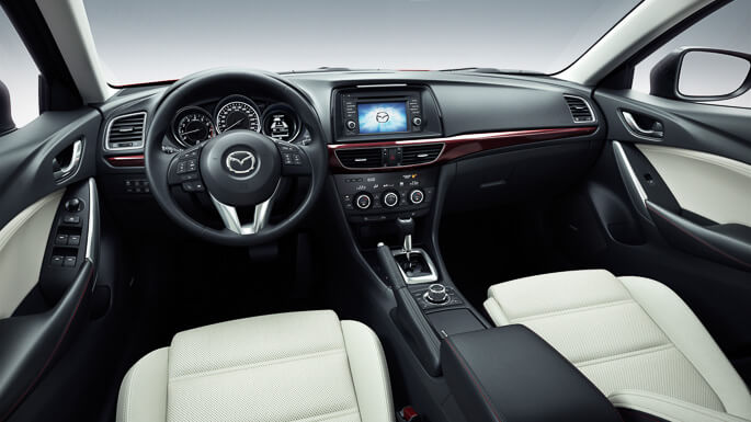 mazda 6 station wagon 2013 Interior