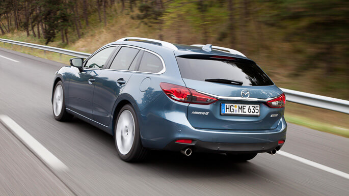 mazda 6 station wagon 2013 Rear