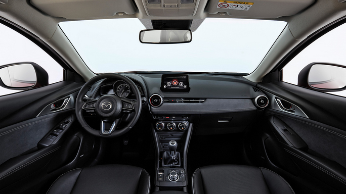 mazda CX3 new Interior