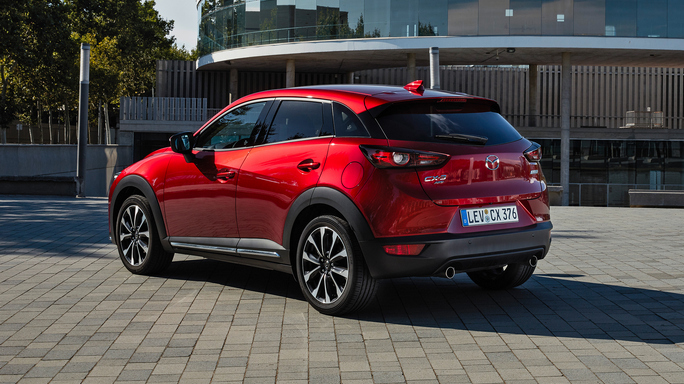 mazda CX3 new Rear