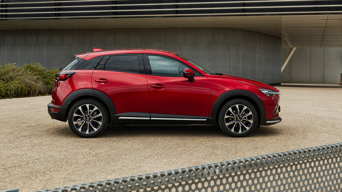 mazda CX3 new Side