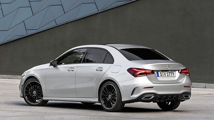 mercedes A class sedan new Rear