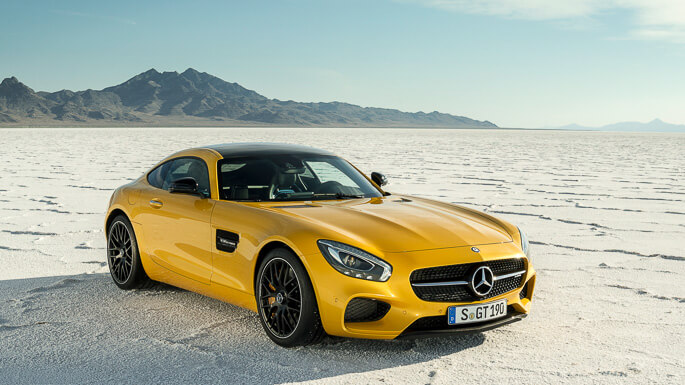 mercedes AMG GT new Front