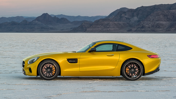 mercedes AMG GT new Side