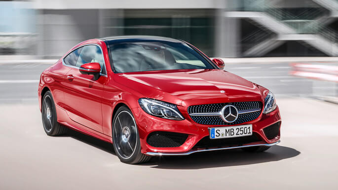 mercedes C class coupe new Extra