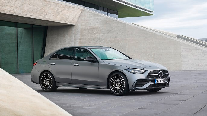 mercedes C class new Front