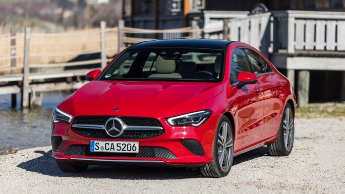 mercedes CLA new Front