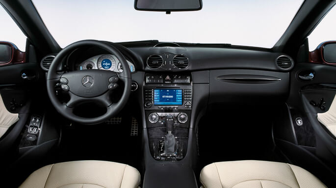 mercedes CLK 2002 Interior