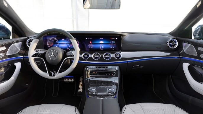 mercedes CLS new Interior