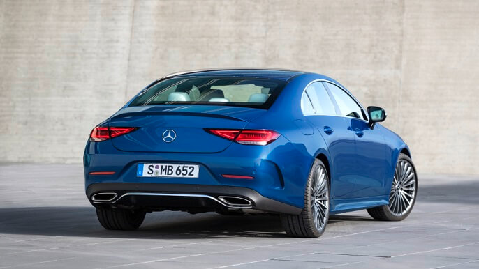 mercedes CLS new Rear