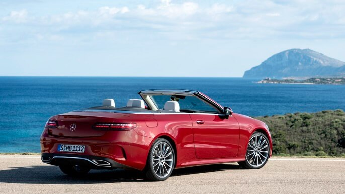 mercedes E class cabriolet new Rear