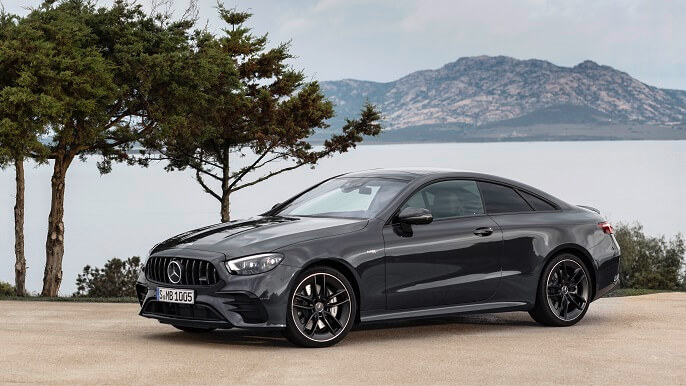 mercedes E class coupe new Front