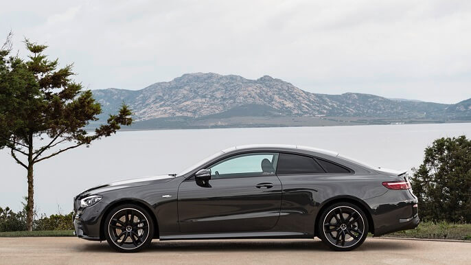 mercedes E class coupe new Side