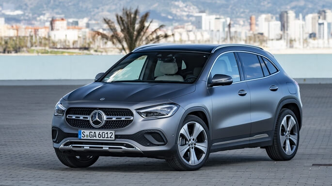 mercedes GLA new Front