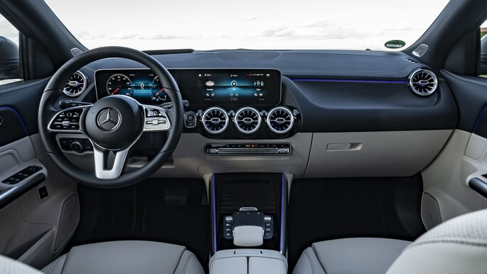 mercedes GLA new Interior