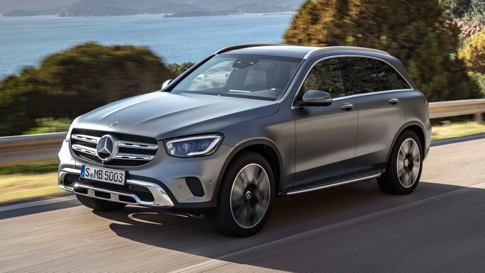 mercedes GLC new Front