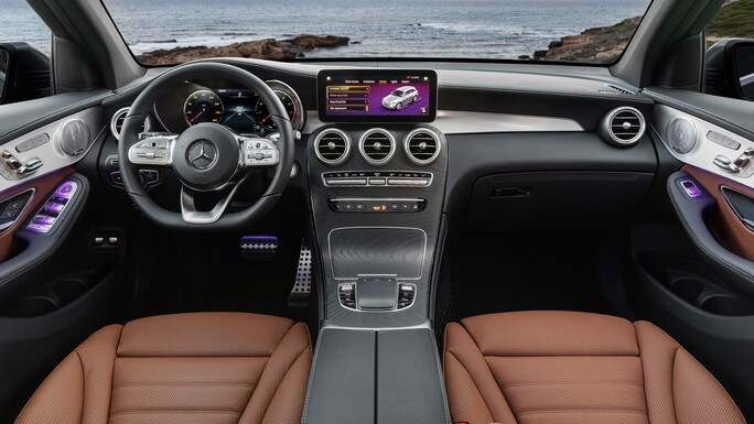 mercedes GLC new Interior