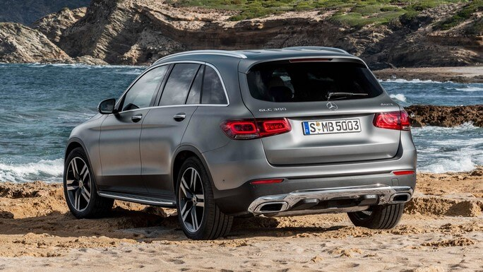 mercedes GLC new Rear