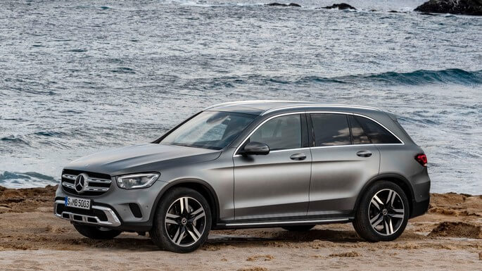 mercedes GLC new Side