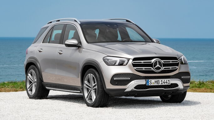 mercedes GLE new Front
