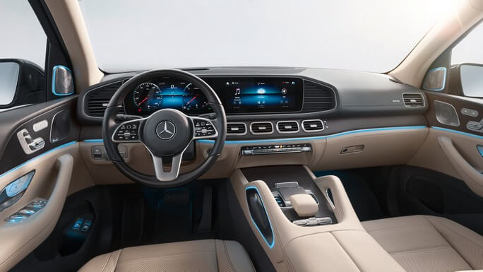 mercedes GLS new Interior