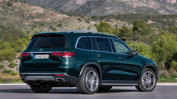 mercedes GLS new Rear