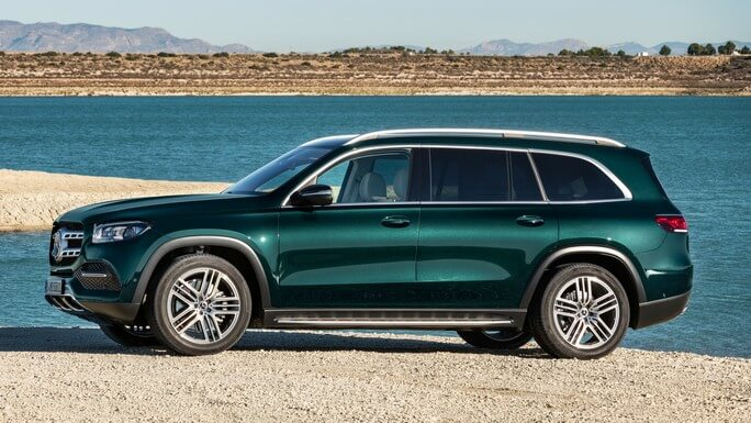 mercedes GLS new Side