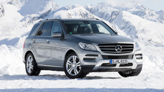 mercedes ML 2012 Front