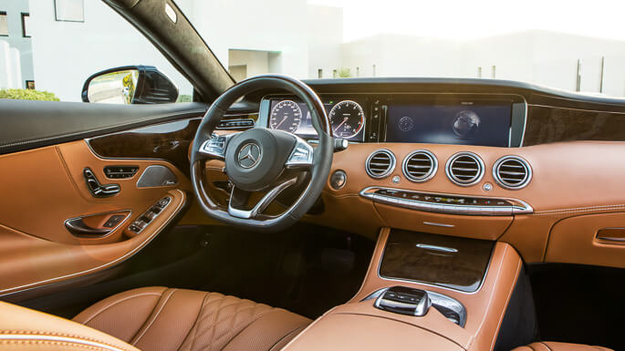 mercedes s class coupe new Interior