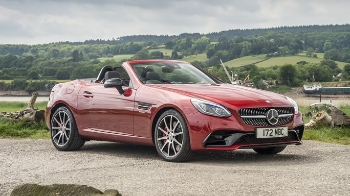 mercedes SLC new Front