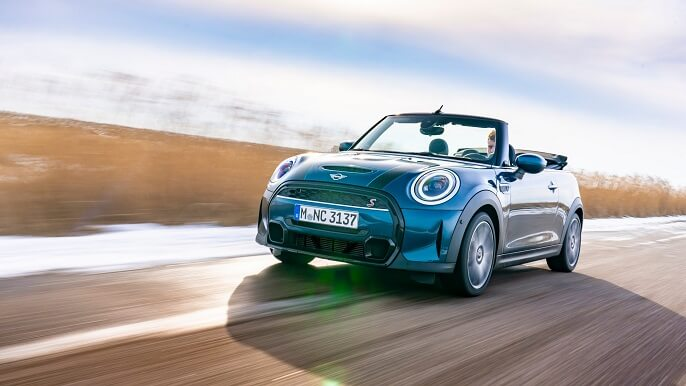 mini cooper cabriolet new Extra