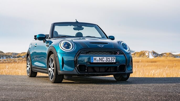 mini cooper cabriolet new Front