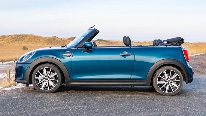 mini cooper cabriolet new Side