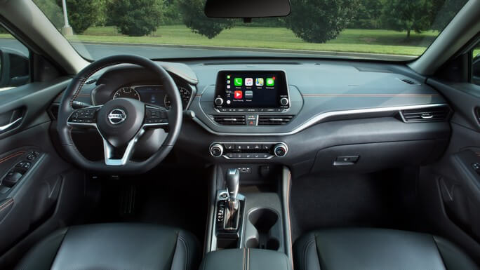 nissan altima new Interior