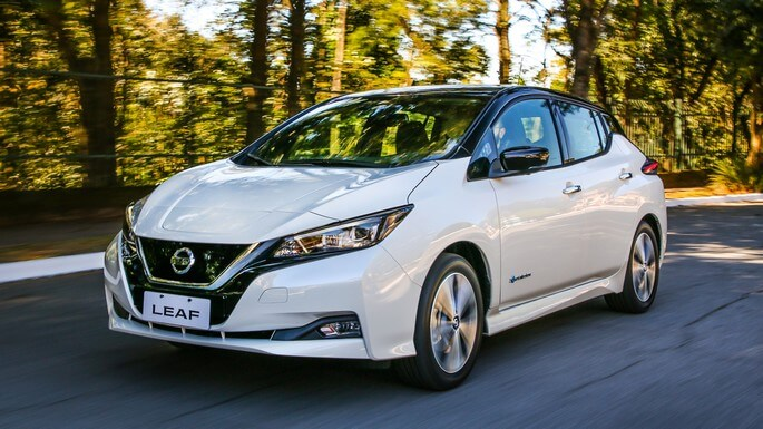 nissan leaf new Extra