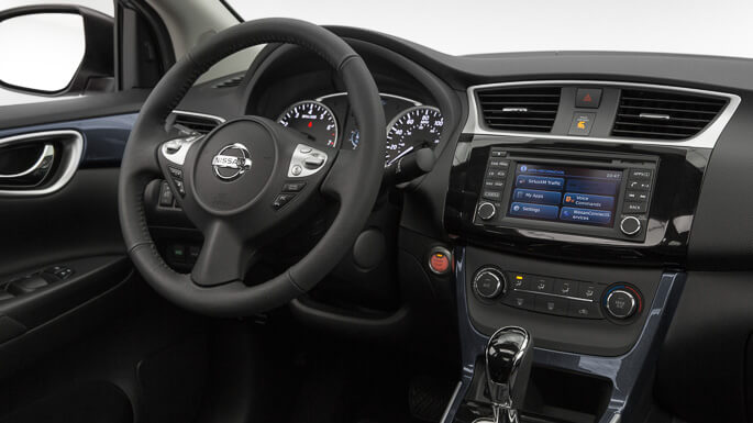 nissan sentra new Interior