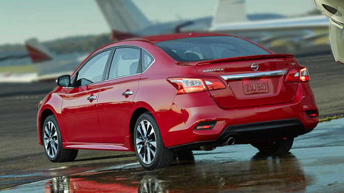 nissan sentra new Rear