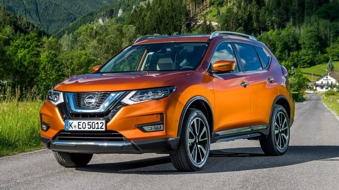 nissan x trail new Front