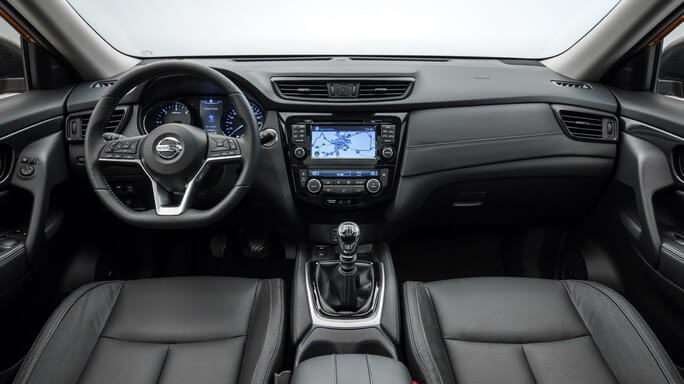 nissan x trail new Interior