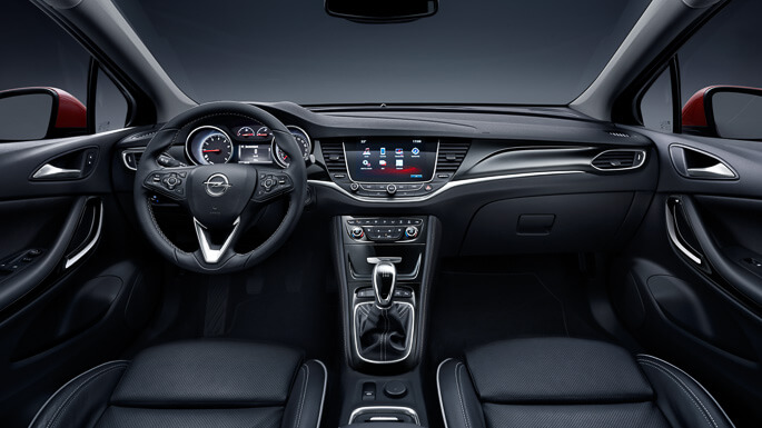 opel astra tourer new Interior
