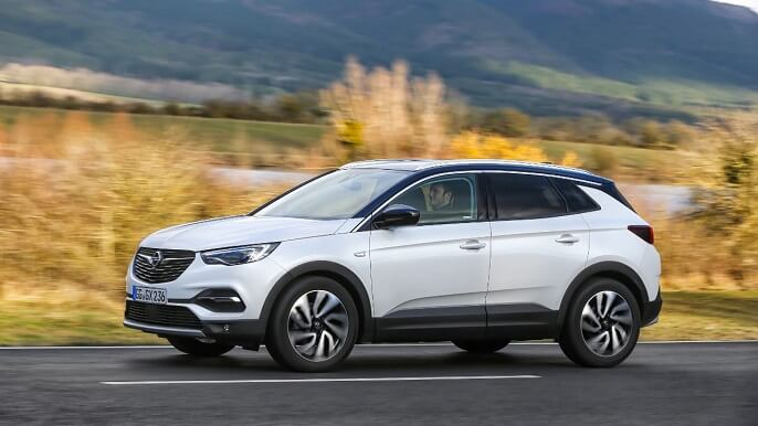 opel grandland x new side