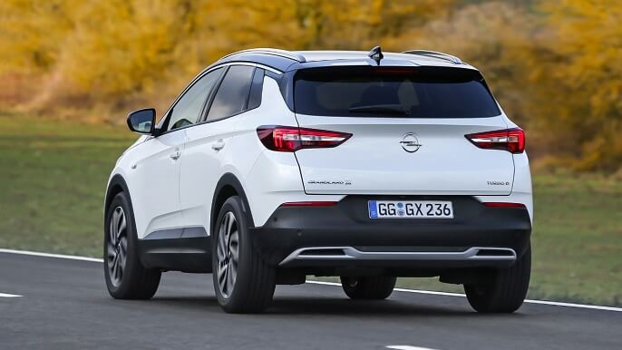 opel grandland x new rear